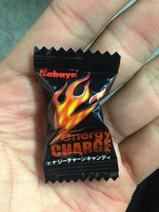 エナジーチャージキャンディーの小袋