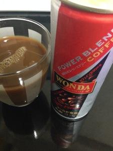 ワンダパワーブレンドコーヒーレビュー
