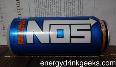NOSエナジードリンクの缶ラベル