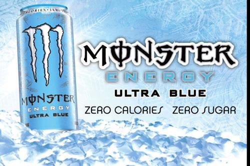 モンスターエナジーウルトラブルー(ULTRA BLUE)