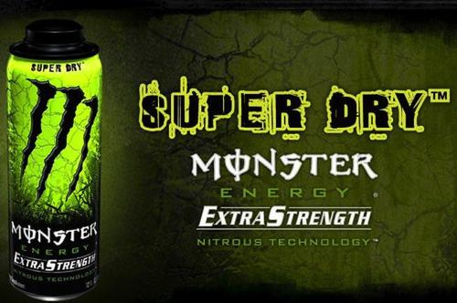 モンスターエナジースーパードライ(SUPER DRY)