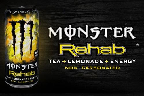 モンスターエナジーお茶+レモネード(TEA+LEMONADE)