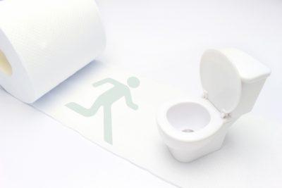 利尿作用の人形