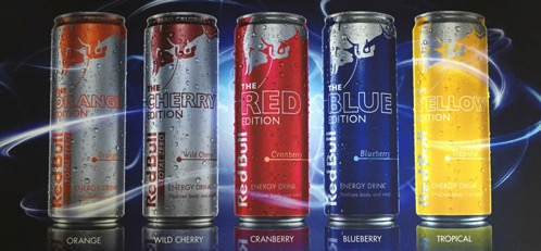 Red bull editions 2015